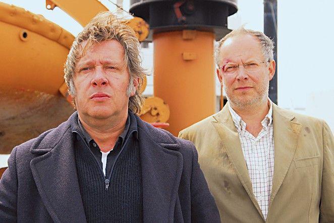 Der letzte Einsatz für Kapitän Freytag (Jan Fedder, l., mit Axel Milberg)