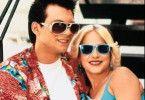 Mit einem Koffer voller Koks fliehen Clarence (Christian Slater) und Alabama (Patricia Arquette) vor der Mafia und Polizei