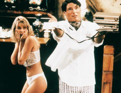 Ist das jetzt gut so? Christopher Reeve und Nicolette Sheridan
