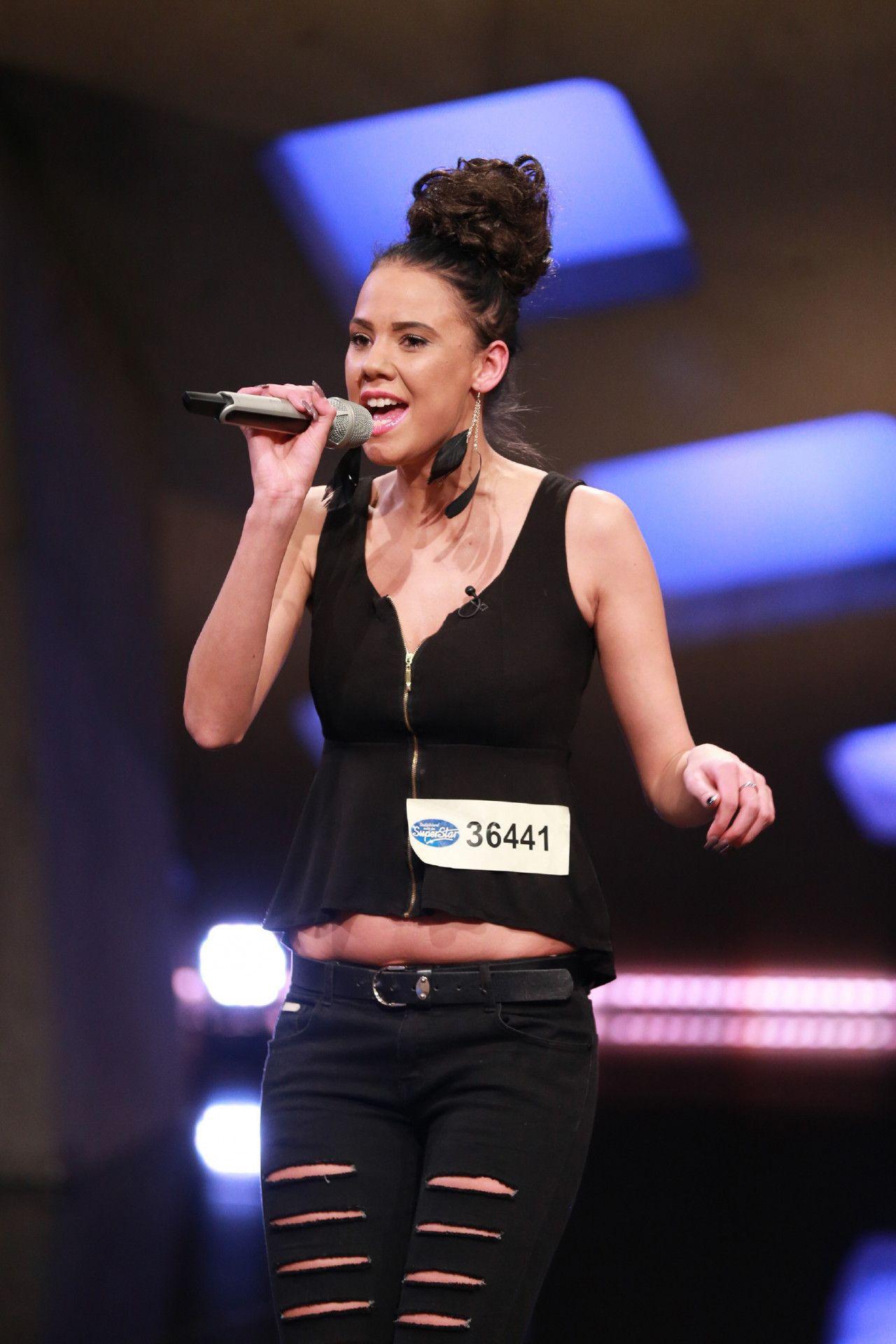 """Alisha Becker möchte Superstar werden, """"weil es mein Traum ist und ich es liebe, zu singen."""""""