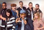 """Sammy Deluxe, Nena, Wolfgang Niedecken, Seven, Xavier Naidoo, The BossHoss und Annett Louisan nehmen an der Vox-Show """"Sing meinen Song - Das Tauschkonzert"""" teil."""