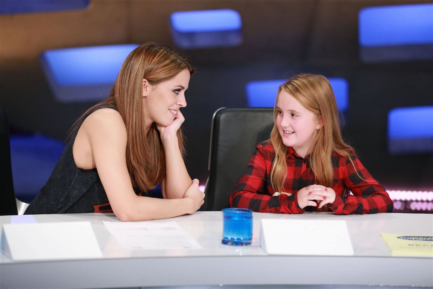"""""""Ich glaube, Nico wird überzeugen, weil er der beste Sänger der Welt ist"""", erklärt Nicos kleine Schwester Jury-Mitglied Vanessa Mai."""