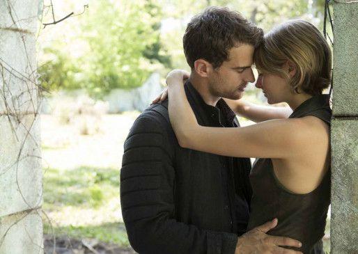 """Nach den erschütternden Ereignissen in """"Die Bestimmung – Insurgent"""" sind Tris (Shailene Woodley) und Four (Theo James) gezwungen zu fliehen und die Mauern, die Chicago umschließen, hinter sich zu lassen."""