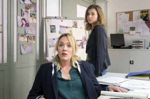 """Die Kommissarinnen Henni Sieland (Alwara Höfels) und Karin Gorniak (Karin Hanczewski) lösen im neuen Dresdener """"Tatort"""" ihren ersten gemeinsamen Mordfall."""