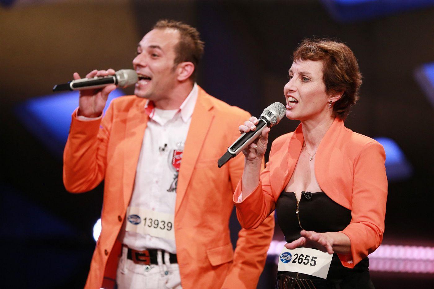 """Eveline Güller und Christian Fundinger haben speziell für """"Deutschland sucht den Superstar"""" einen eigenen Song geschrieben."""