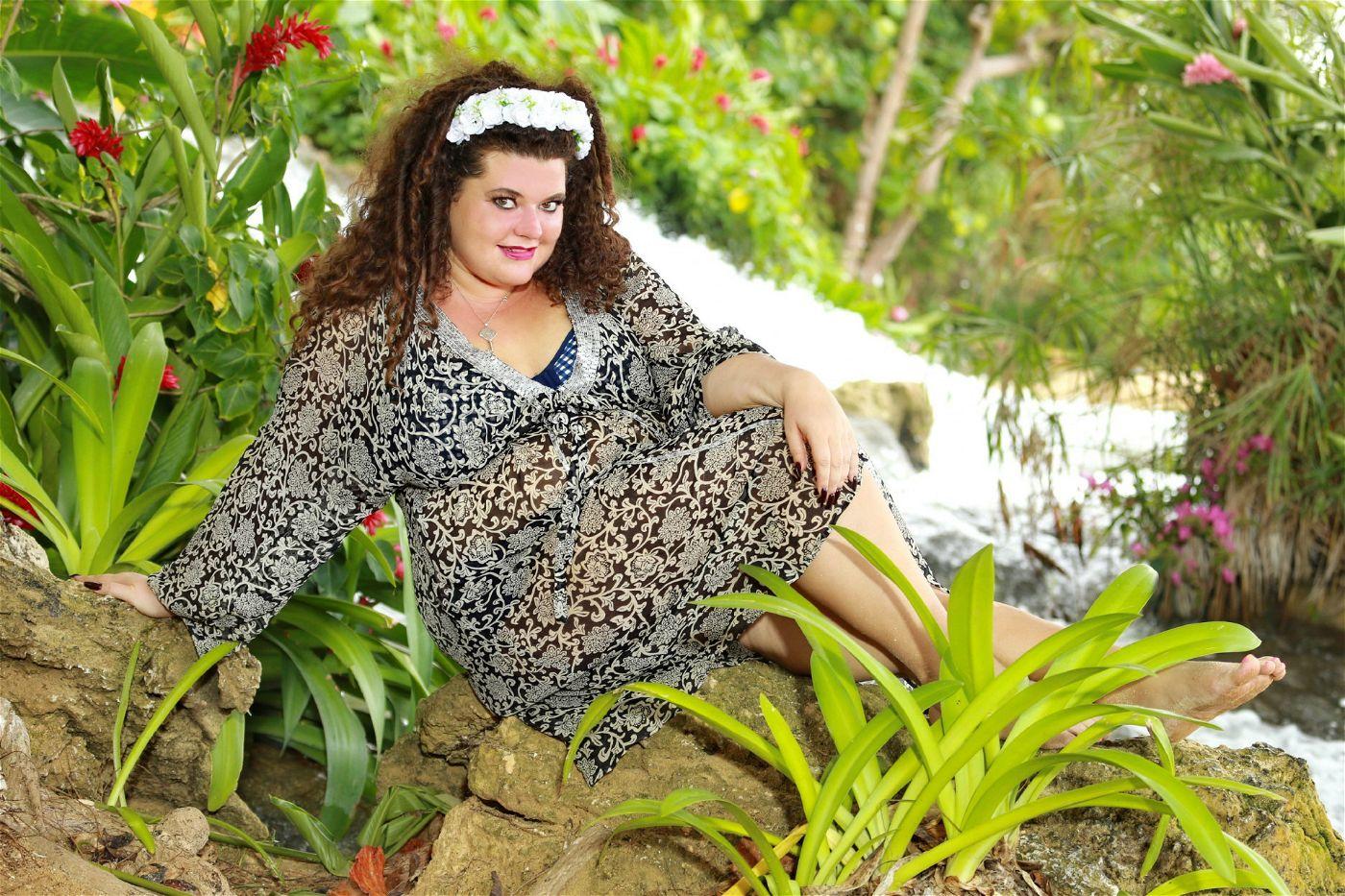 Tallana Gabriel tritt selbstbewusst auf.