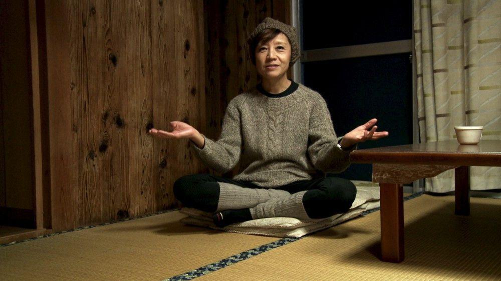 Protagonistin Michiko in Japan