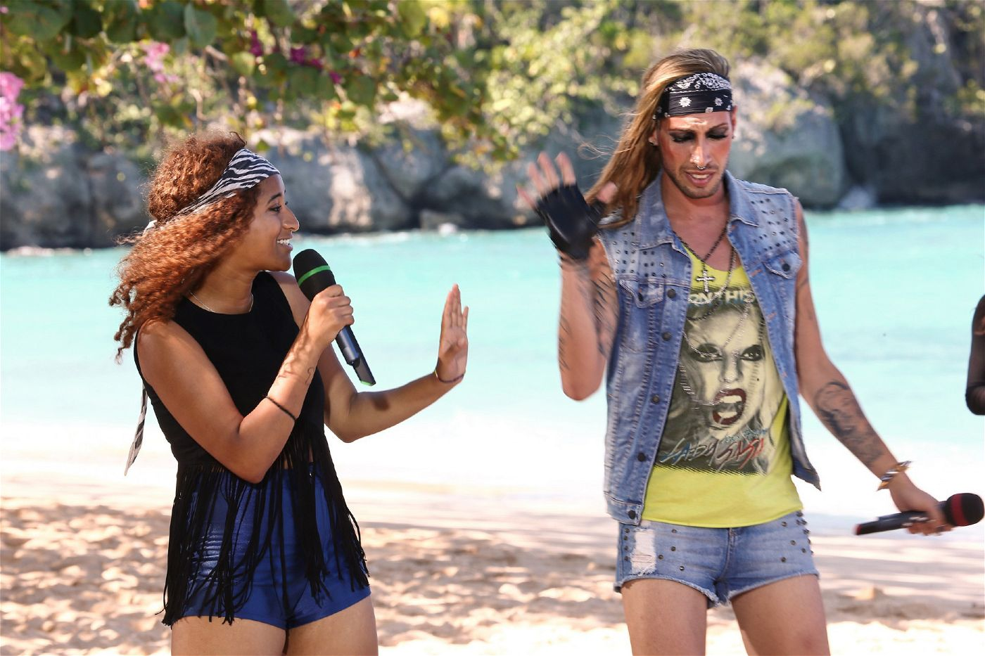 """Lindsay Traore und Walter Zauner haben sich für den Song """"Girlfriend"""" von Icona Pop entschieden."""