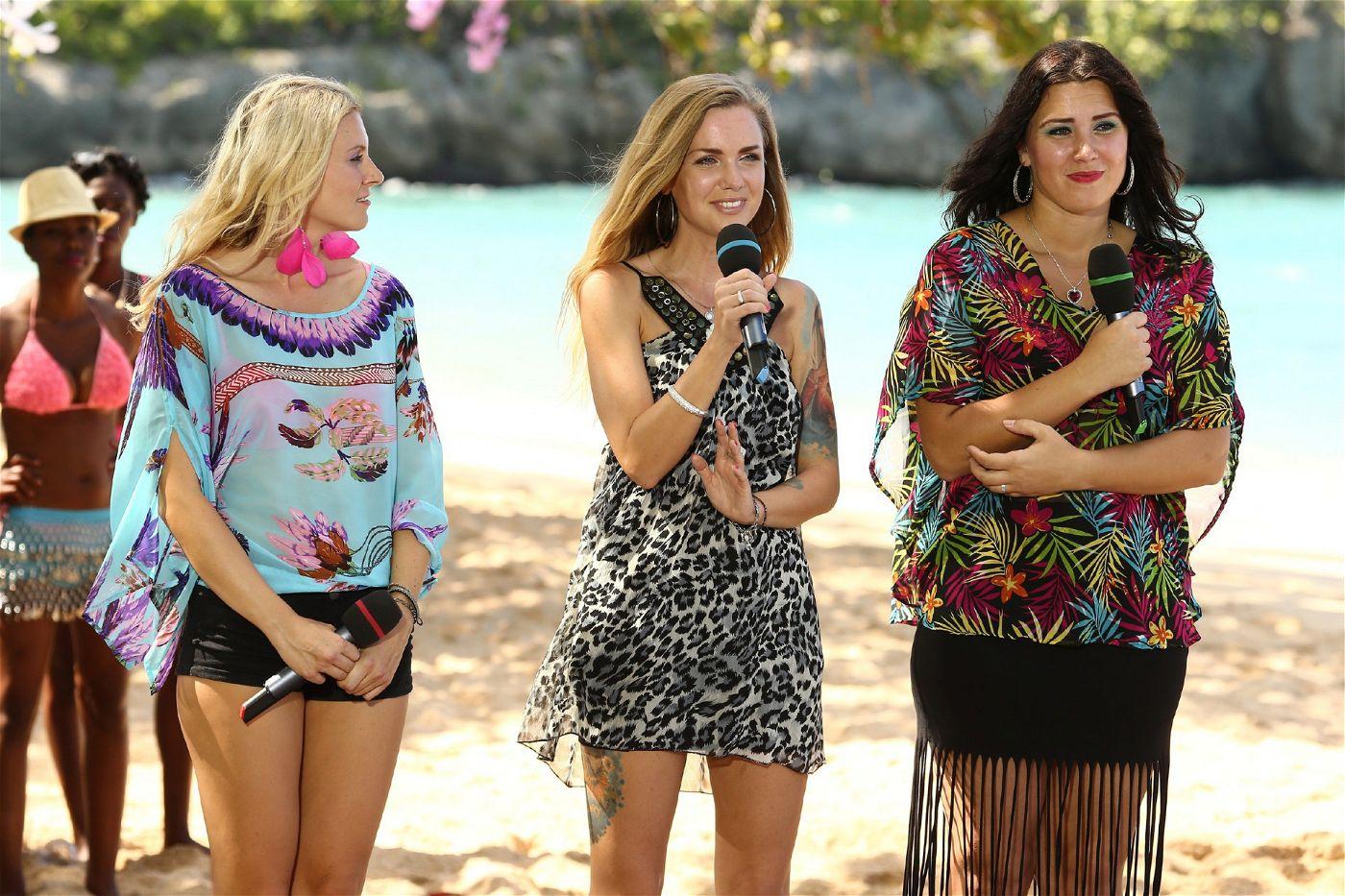"""Franziska Gillo, Angelika Ewa Turo und Sandra Berger wollen die Jury mit dem Lied """"Mein Herz"""" von Beatrice Egli überzeugen."""