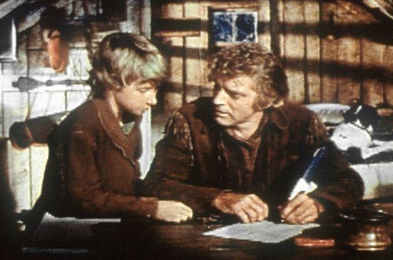 Elias Wakefield (Burt Lancaster) schreibt mit seinem Sohn einen Brief an den US-Präsidenten