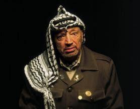 Äußert sich auch vor Oliver Stones' Kamera: Yassir Arafat