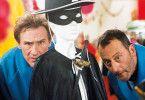 Überraschung! Gérard Depardieu (l.) und Jean Reno