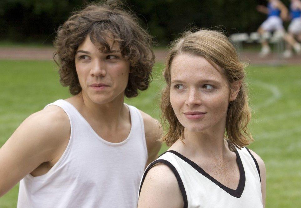 Konkurrentinnen unter sich: Sebastian Urzendowsky und Karoline Herfurth (v.l.)