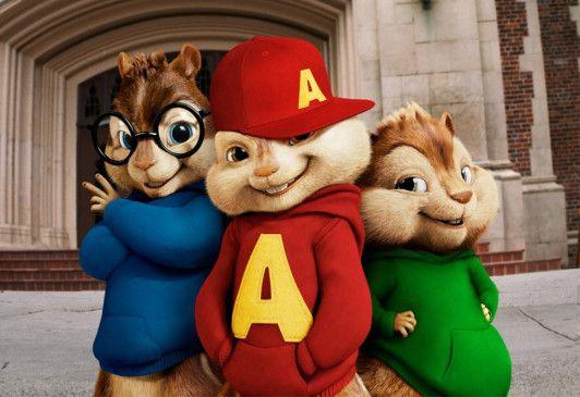 Da sind sie wieder: Alvin und Co.