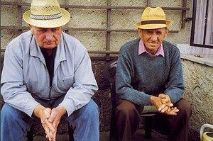 Jetzt erzählen wir aus unserem Leben... Zwei alte Männer in der Uckermark