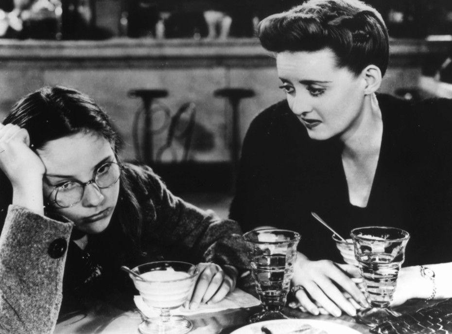 Ich bin unglücklich, Kind! Bette Davis (r.) mit Janice Wilson