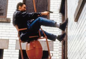 Wäre es durch Treppenhaus wirklich einfach gewesen? Thomas Ian Griffith