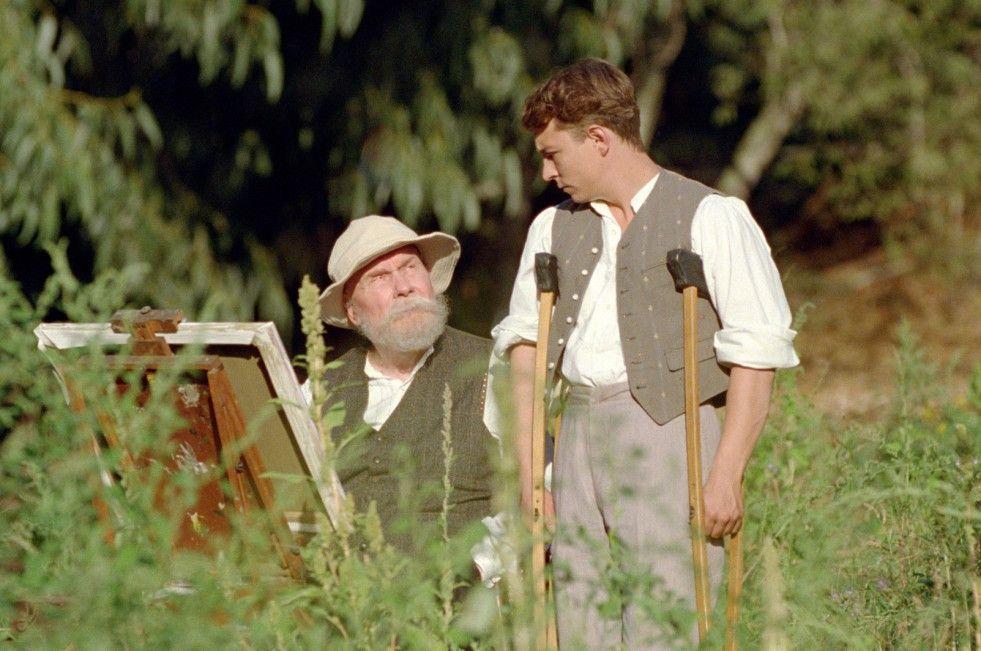 Malen nach Zahlen? Michel Bouquet als Auguste Renoir und Vincent Rottiers als sein Sohn Jean