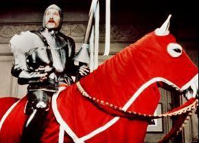 Ein Königreich für mein Pferd? George Segal