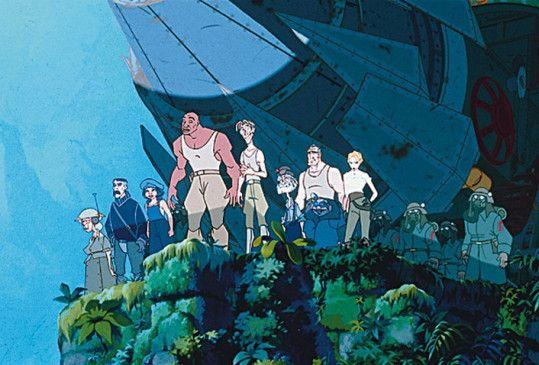 Wo sind wir denn hier gelandet? Das Forscherteam  entdeckt Atlantis