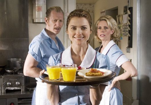 Mahlzeit mit prächtigem Kuchen: Keri Russell als Jenna