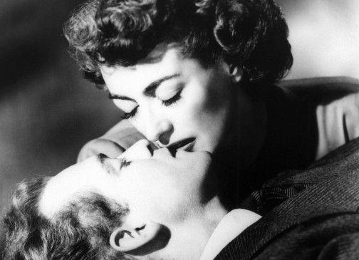 Sie will immer in seiner Nähe sein: Joan Crawford und Van Heflin