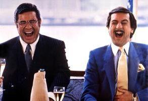 Toller Witz, der Typ will mich entführen! Noch lacht Jerry Lewis (l.) über Robert De Niro