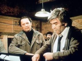 Was ist den in der Mottenkiste? John Vernon (l.) und Robert Beatty