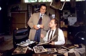 Legal, illegal, scheißegal! Götz George (l.) und Uwe Ochsenknecht<br> wittern die große Knete