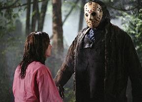 Hallo, ich bin der nette Jason! Ken Kirzinger mit Maske
