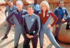 Wann wird's endlich spannend? Serienhelden Alan Rickman, Tim Allen, Sigourney Weaver (vorne, v.l.)