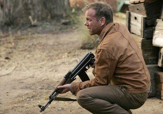 Lässt nicht mit sich spaßen! Kiefer Sutherland als Jack Bauer