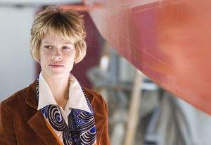 Präsentiert sich selbstbewusst: Hilary Swank als Amelia Earhart
