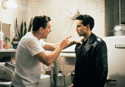 So geht das nicht weiter! Robert De Niro und Lillo Brancato (r.)