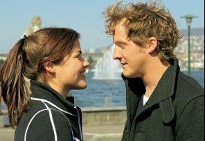 Darf ich dein Skihaserl sein? Katharina Wackernagel und Maximilian Brückner.