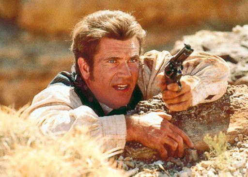Fummelt auch gerne 'mal mit der Knarre 'rum: Mel Gibson als Bret Maverick