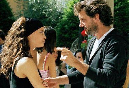 Ein schmuckes Paar: Leonardo Pieraccioni und Marjo Berasategui