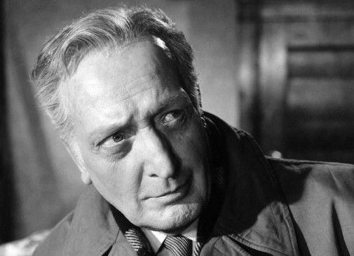 Hans Albers als alter Kriminalkommissar