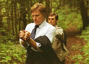 Geschunden: Robert Redford mit seinem Entführer Willem Dafoe