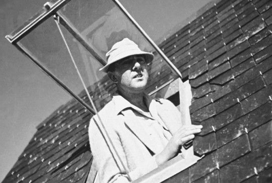 Tolle Aussicht! Jacques Tati als Monsieur Hulot