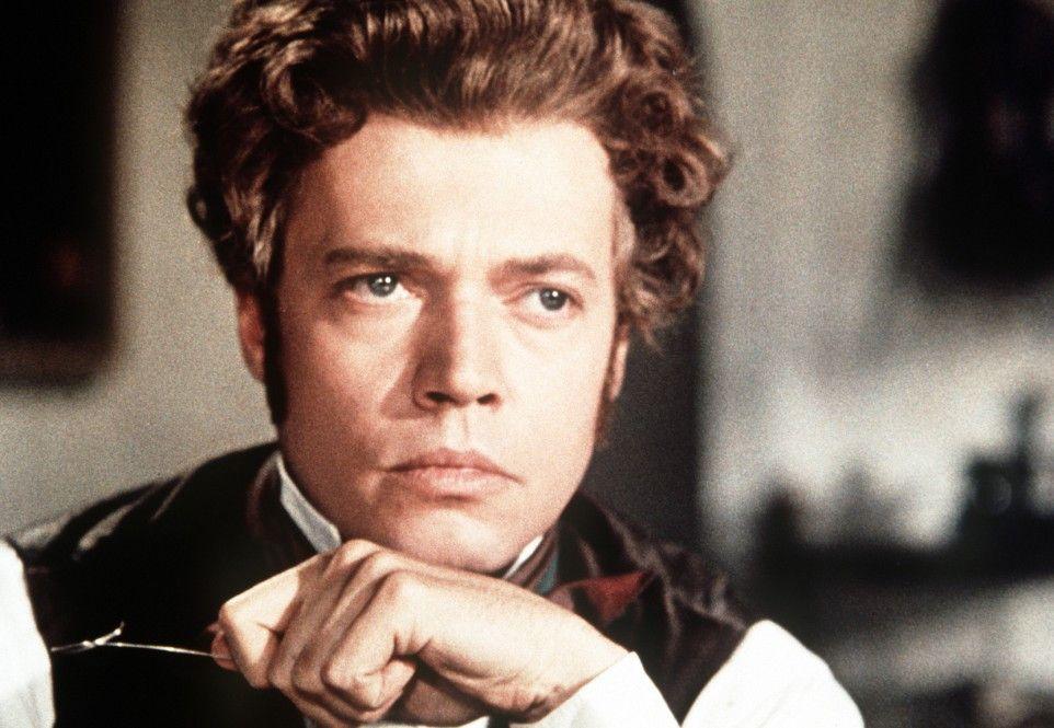 Karlheinz Böhm in der Rolle des Komponisten Franz Schubert
