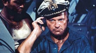 Jage ich oder werde ich gejagt? Curd Jürgens als deutscher U-Boot-Kapitän