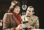 Doris Zils (Birke Bruck) wird nervös, als Haferkamp (Hansjörg Felmy) entdeckt, dass sie Michalke kennt