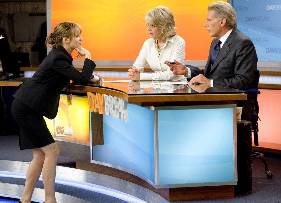 Gleich geht's los! Rachel McAdams )l.) gibt Diane Keaton und Harrison Ford letzte Instruktion