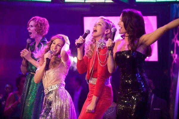 Jetzt singen sie auch noch! Cynthia Nixon, Sarah Jessica Parker, Kim Catrell und Kristin Davis