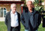 Grimmig: Chefinspektor Ochajon (Heiner Lauterbach, r., mit Michael Degen)