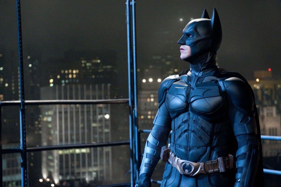 Eher seltener Anblick: Christian Bale im Batman-Kostüm