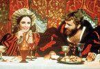 Erst mal lecker essen! Elizabeth Taylor und Richard Burton