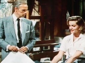Sind wir etwa beide verrückt?! Richard Widmark und Lauren Bacall