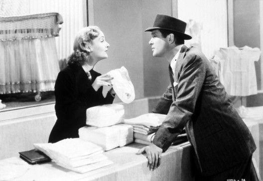 Sie streiten, um sich wieder versöhnen zu können: Robert Montgomery und Carole Lombard